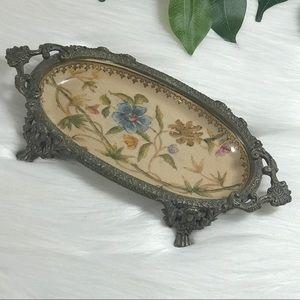 Other - Vintage Soap Trinket Dish Handpainted? Floral